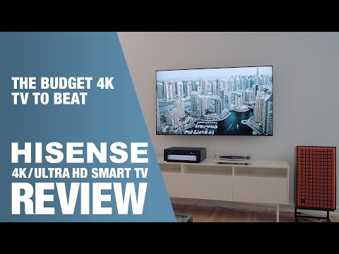 REFERENCE Grade 4K for UNDER $600 - Hisense 65H8F UltraHD Smart TV Review