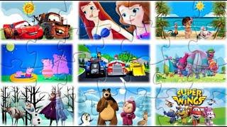 🧩PUZZLE para los mas peques (13min), Puzzle games, Rompecabezas para los mas pequeños