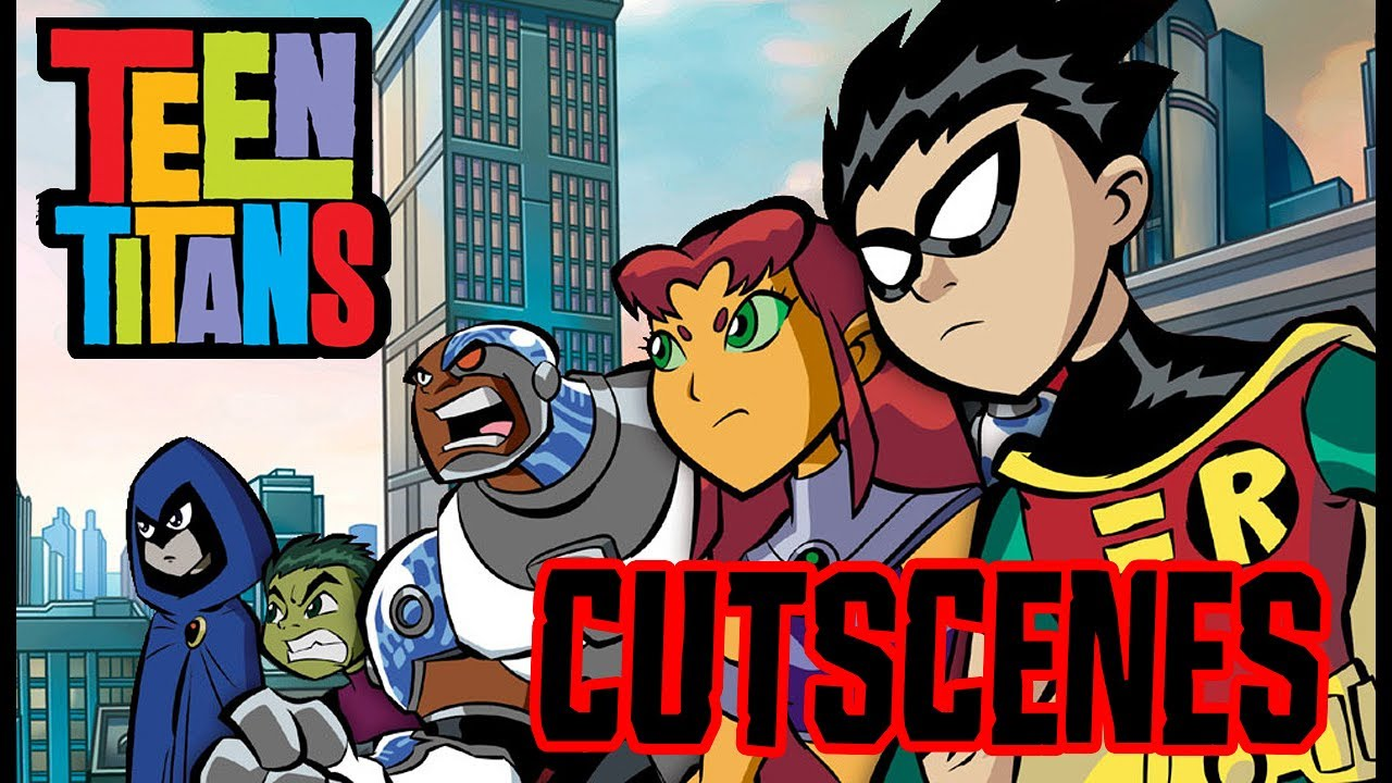 Teen Titans All Cutscenes | Full Game Movie (PS2, GCN ...