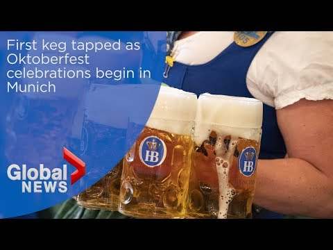 Beer flows as Oktoberfest opens in Munich