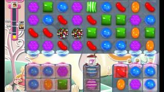 Candy Crush saga level 340 strategy to pass No Boosters