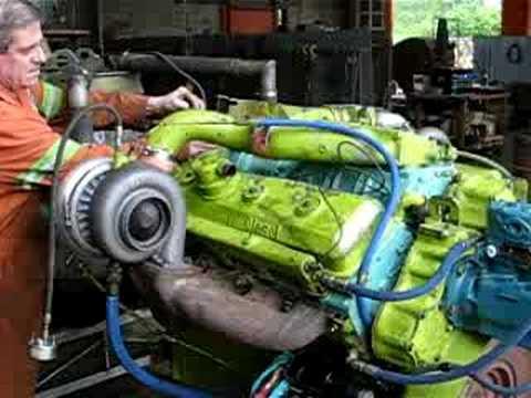 V12 Detriot Diesel 525hp Youtube