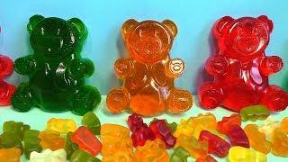 большие желейные медведи медвежуйки Как сделать их дома своими руками