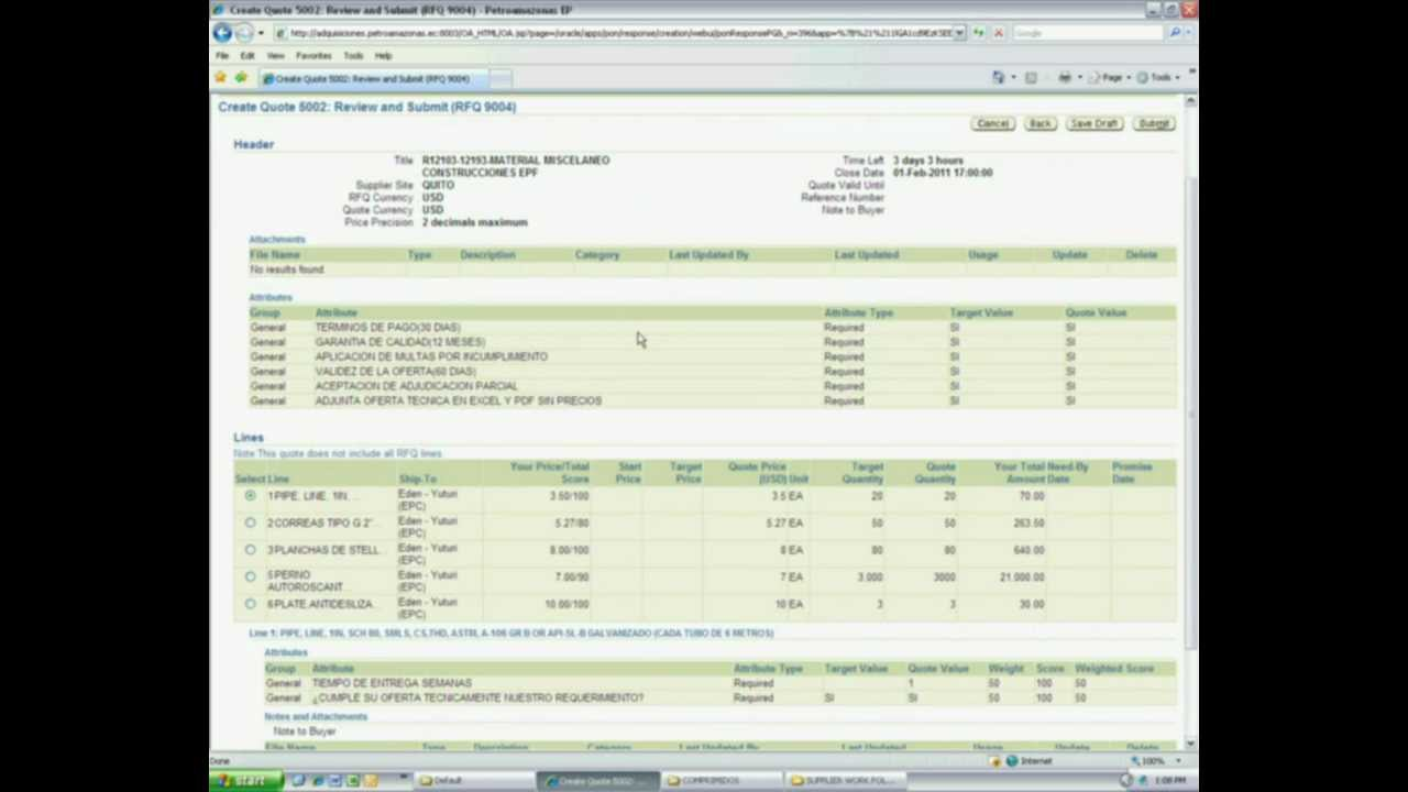 sourcing supplier quote by spreadsheet sourcing supplier quote by spreadsheet