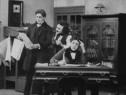 """""""Edgar Allan Poe"""" (1909) director D. W. Griffith, cinematographer Billy Bitzer"""