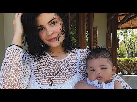 Kylie Jenner And Travis Scott Hide Stormi | Hollywire thumbnail