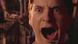 peter parker shouting thumbnail