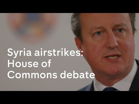 Syria air strikes: House of Commons debate