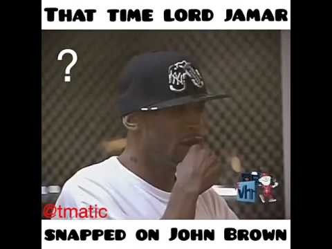 Lord Jamar snapping on John Brown