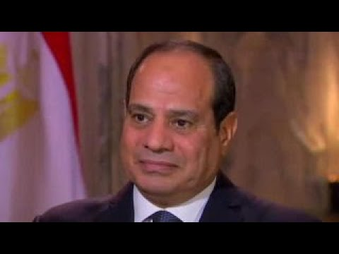 President El-Sisi on how Egypt is fighting terror