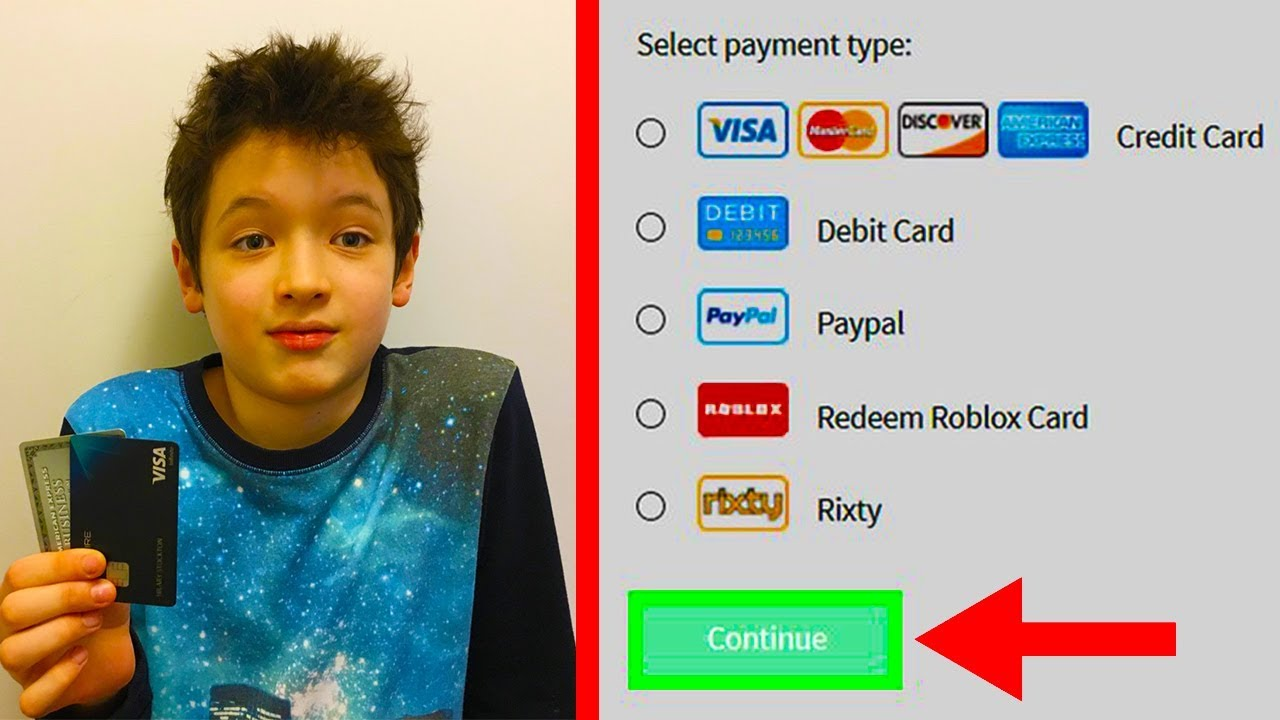 Kid STEALS Moms Credit Card To Buy Robux... - YouTube