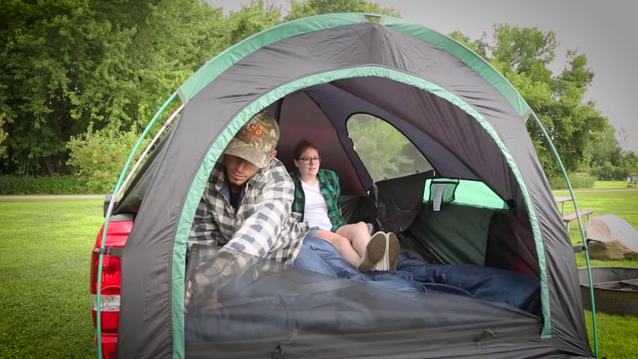 Guide Gear Full Size Truck Tent & Guide Gear Full Size Truck Tent - YouTube
