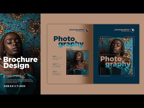 How to design Professional Brochure in adobe illustrator cc