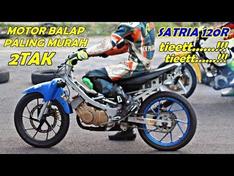 motor tua yg menolak punah - SATRIA 120R road race, solusi motor balap murah
