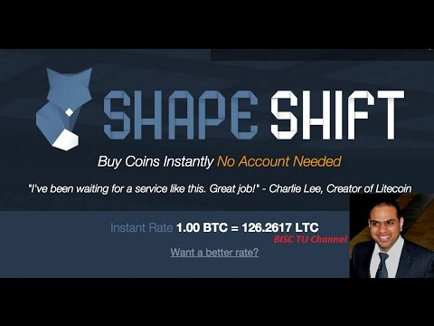 Shapeshift - How To Buy ethereum/Dash/Monero/Litecoin/Ripple Using Shapeshift
