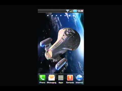 Star Trek Voyager Live Wallpaper Youtube