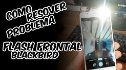 Ativar o flash frontal na ROM Blackbird Android 9 OneUi