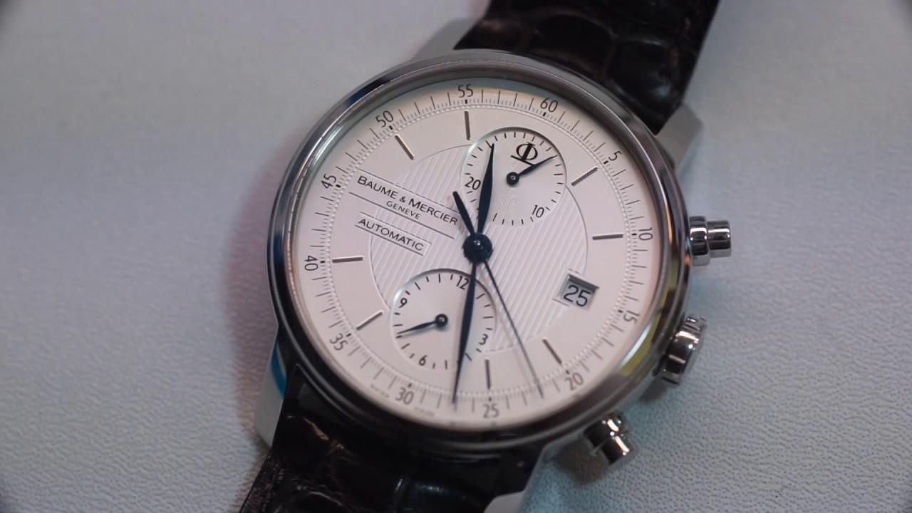 d4037e6ad90 Baume   Mercier Classima Executive 65560 Automatic Chronograph - YouTube