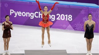 Russia's Alina Zagitova Wins Figure Skating Gold