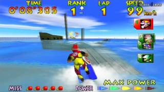 Wave Race 64 - Championship Mode (Expert) - R. Hayami (2 of 2)