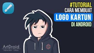 Cara Machen Logo di Patrone Charakter Android | Infinite Design