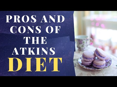 PROS AND CONS OF THE ATKINS DIET food nutrition health