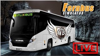 "LIVE | Fernbus Coach Simulator - #16 ""SCANIA Touring"""