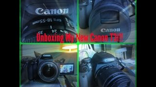 Unboxing My Canon T3i Thumbnail