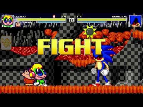 AN Mugen Request #1135: Tempo & Shinnosuke VS Sonic.exe