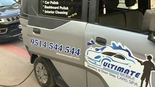 Mobile car wash detailing at thanjavur / ultimate mobile cars spa