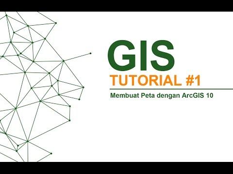 GIS Tutorial #1 - Membuat Peta dengan ArcGIS 10