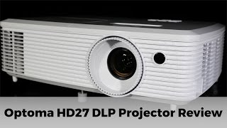 optoma hd27 dlp projector review