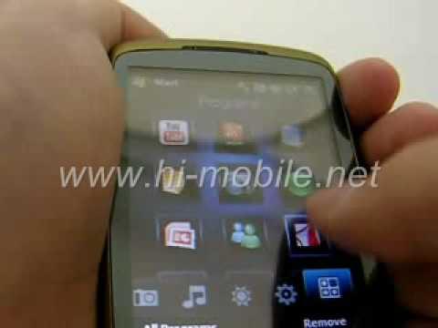 HTC Touch 3G T3232 Fully Unlocked (www.hi-mobile.net)