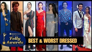 Indian telly awards 2019 Red Carpet - BEST & WORST DRESSED CELEBRITIES thumbnail