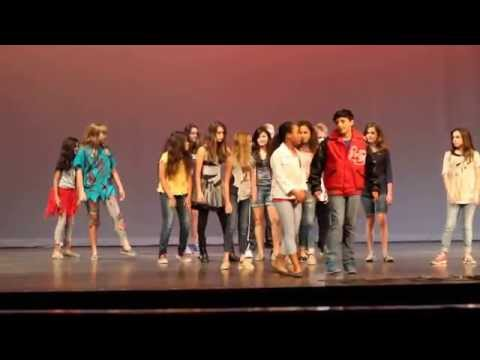 Cedar Creek Intermediate School - PALS Talent Show Performance - Michael Jackson - Thriller