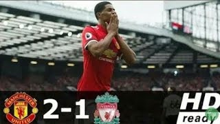 Manchester United vs Liverpool (2-1) Liga Inggris 2017/2018 - All Goals &  Extended Highlights