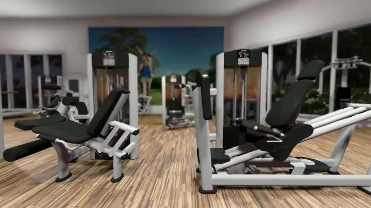 Dise o de gimnasios profesionales gymcompany youtube - Decoracion de gimnasios ...