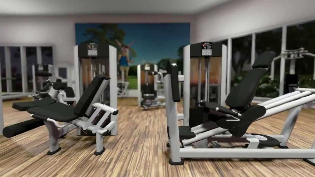 Diseo de gimnasios profesionales  GymCompany  YouTube