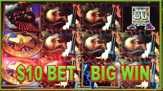 ** BIG WIN ON THE ENFORCER ** HIGH LIMIT ** $10 BET ** SLOT LOVER **