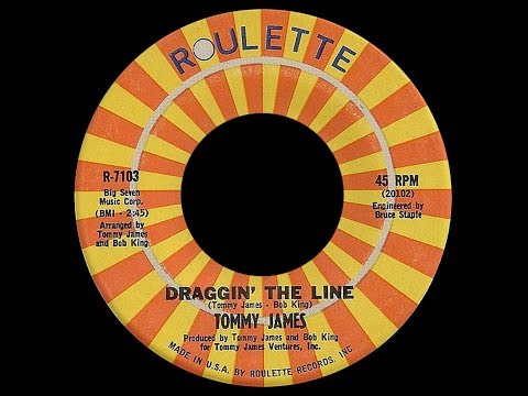 Tommy James ~ Draggin' The Line 1971 Disco Purrfection Version
