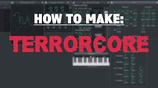 How to make a TERRORCORE kick in LMMS