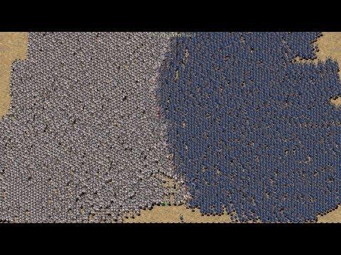 Stronghold Crusader HD 10.000 Troops Battle