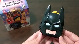 McDonald's Happy Meal Toy: The LEGO Movie 2 - Batman (2019)
