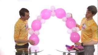 Гирлянда из шаров своими руками. Урок 5(, 2012-05-19T10:16:36.000Z)