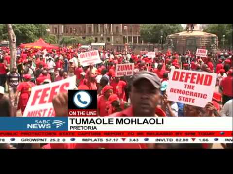 Traffic disrupted in Pretoria as EFF march continues