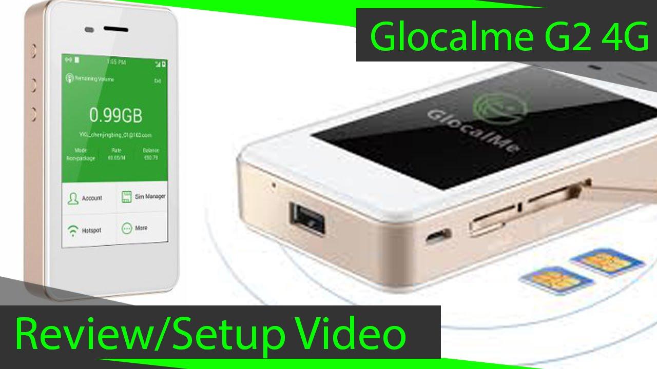glocalme g2 4g hotspot review youtube. Black Bedroom Furniture Sets. Home Design Ideas