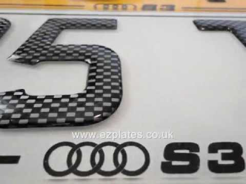 How To Get Number Plate For Car