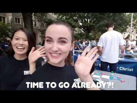Student Activities Fair at Georgetown University