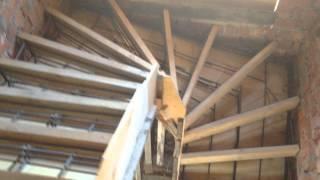 видео Винтовые железобетонные лестницы