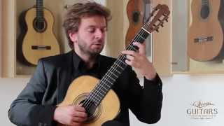 "Marcin Dylla plays Variations on ""Folia de España"" by Manuel Maria Ponce on a 1948 Hermann Hauser I"
